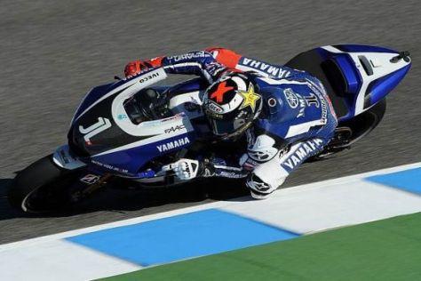 Jorge Lorenzo hofft darauf, dass Yamaha am Samstag ein Fortschritt gelingt