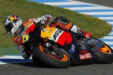 Andrea Dovizioso konnte Verbesserungen an seiner Honda erzielen