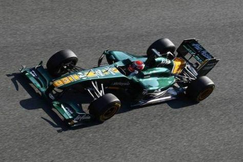 Lotus hofft, beim Heimrennen einen Sprung nach vorn machen zu können