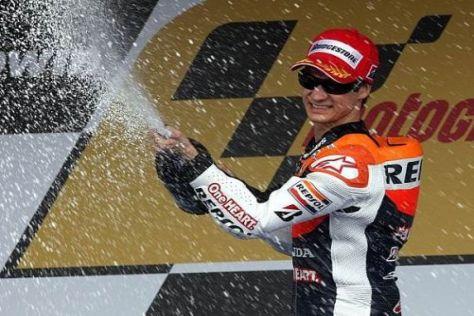Dani Pedrosas Hartnäckigkeit wurde in Jerez mit dem zweiten Platz belohnt