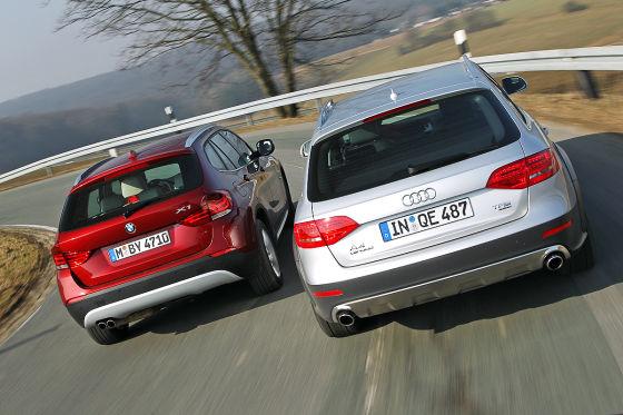 Audi A4 allroad BMW X1