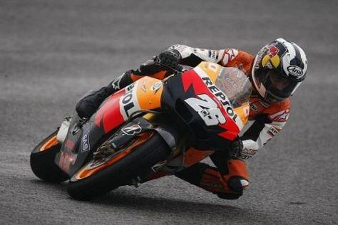 Honda-Pilot Dani Pedrosa ist der leichteste Fahrer im MotoGP-Feld