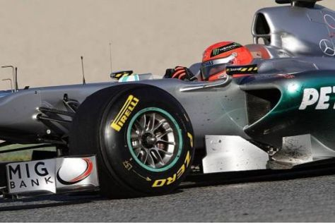 Michael Schumacher bestreitet seine zweite Saison seit seinem Formel-1-Comeback
