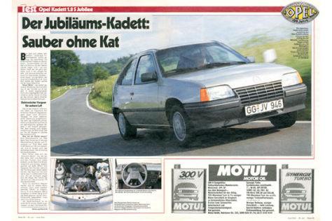Opel Kadett 1.8 S Jubilee