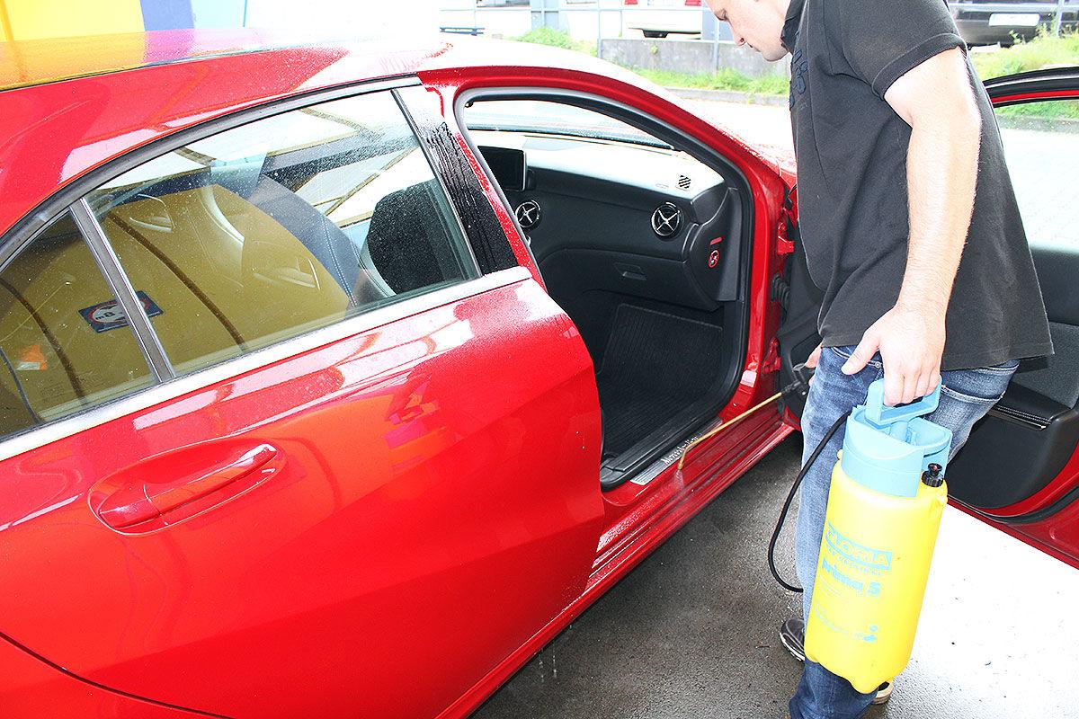 auto fenstergummi reinigen reparatur von autoersatzteilen