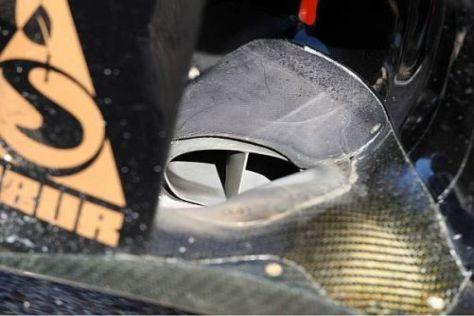 Der Renault-Front-Auspuff gilt als eine der Innovationen des Jahres 2011