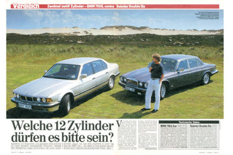 BMW 750 iL Daimler Double Six