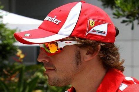 Fernando Alonso blickt dem Sepang-Wochenende gewohnt locker entgegen