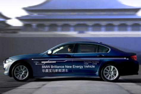 BMW 5er Plug-in-Hybid in Shanghai 2011