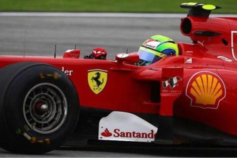 Heute schneller als Teamkollege Fernando Alonso: Felipe Massa