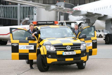 VW Amarok als Follow-Me-Car