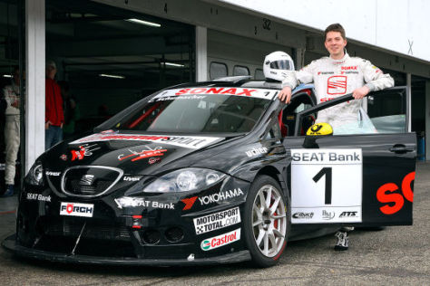 Richard Raß im Seat Leon Supercopa