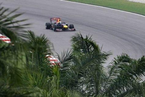 Sebastian Vettel sicherte sich im letzten Run noch die Pole-Position