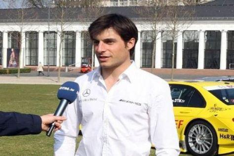 Viel Erfahrung: Bruno Spengler geht in seine siebte DTM-Saison mit Mercedes