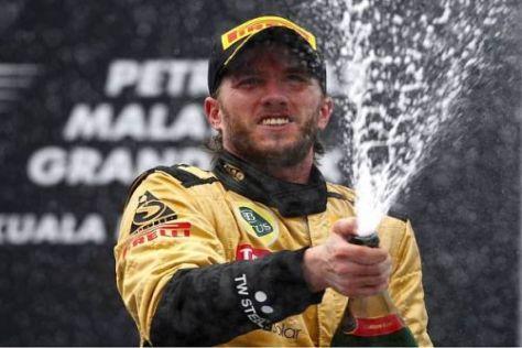 Nick Heidfeld fuhr ein starkes Rennen und wurde auch vom Glück unterstützt
