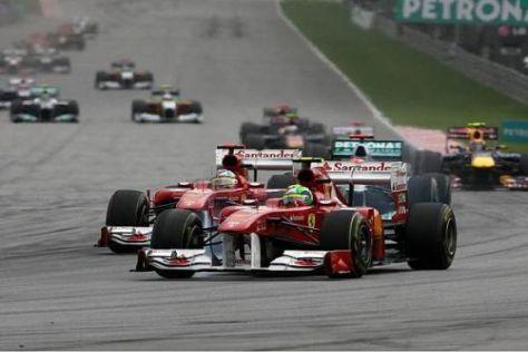Ferrari hat auch nach dem zweiten Rennen der Saison viel Aufholbedarf
