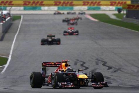 Sepang-Sieger Sebastian Vettel schaltete KERS aus Sicherheitsgründen ab