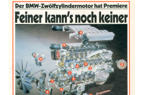Premiere BMW-Zwölfzylindermotor