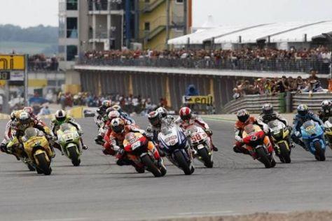 Die MotoGP könnte 2011 zum letzten Mal auf dem Sachsenring gastieren