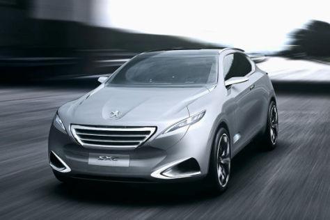 Peugeot SxC: Studie in Shanghai 2011