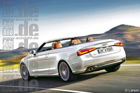 Audi A9 Cabrio Illustration