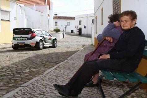 Der WRC-Zirkus soll die Fans in Portugal auch 2012 von den Sitzen reißen