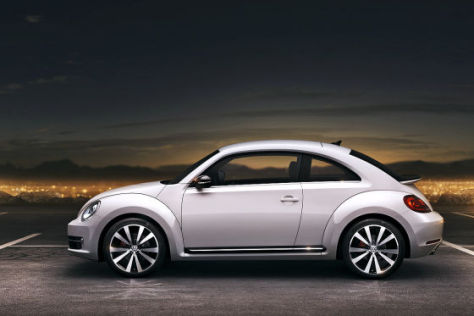 vw beetle ii 2011 der neue k fer auf der auto shanghai. Black Bedroom Furniture Sets. Home Design Ideas