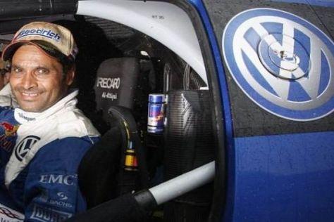Lächelt Nasser Al-Attiyah bald aus einem WRC-Boliden von Volkswagen?