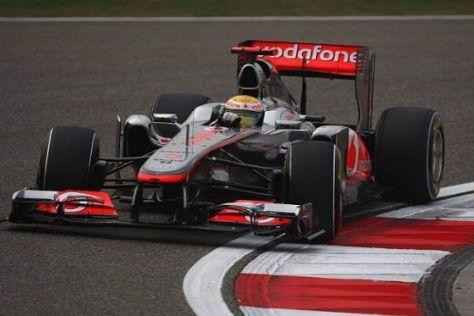 Lewis Hamilton fühlte sich am Nachmittag mit der Balance nicht ganz wohl