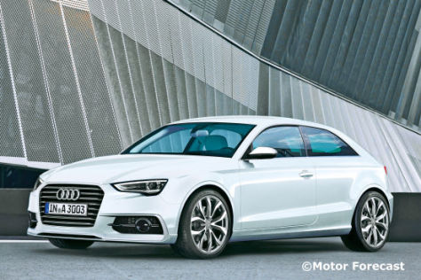Illustration Audi A3