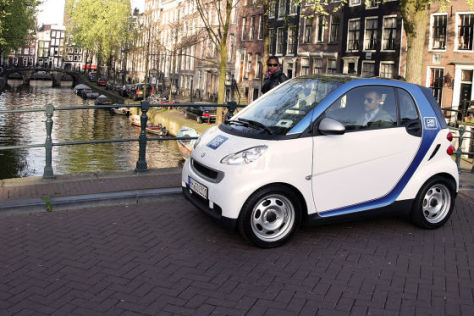 Car2go in Amsterdam