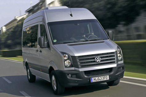 VW Crafter Facelift