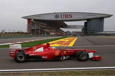 Fernando Alonso war heute nur knapp schneller als sein Teamkollege
