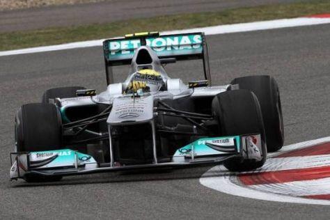 Nico Rosberg auf dem Weg zum vierten Rang: Eine deutlich bessere Leistung