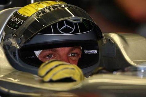 Enttäuschter Blick: Nico Rosberg wurde in China unter Wert geschlagen