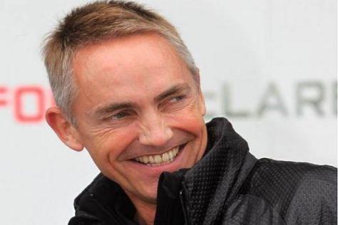 Martin Whitmarsh hat nach dem ersten Saisonsieg von McLaren gut lachen