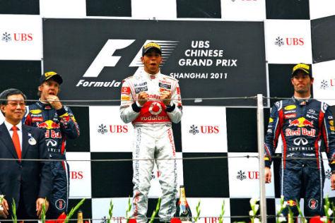 Formel 1 GP von China 2011
