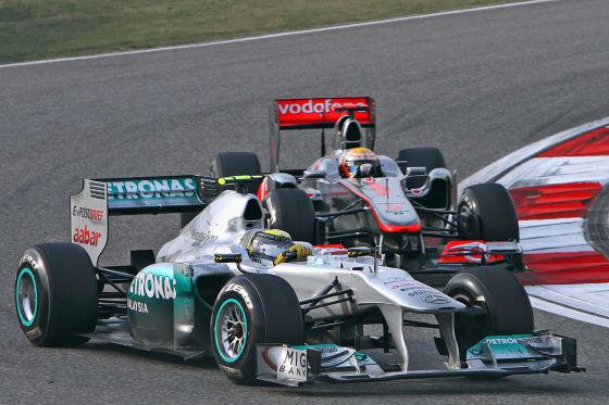 Nico Rosberg im Mercedes MGP W02