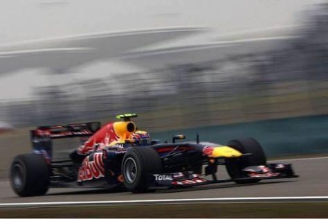 Mark Webber manövrierte sich vom 18. Startplatz auf den dritten Rang nach vorne