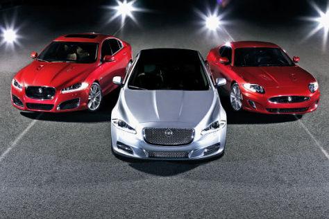Jaguar XF (Mitte) XJ und XK 2012