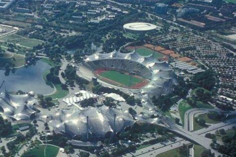 Das Olympiastadion in München ist 2011 Gastgeber für einen DTM-Showevent