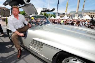 Boris Becker und seine Autos