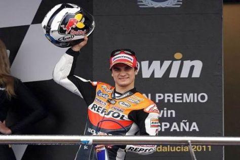 Dani Pedrosa freut sich darauf, möglichst bald auf seine Honda zurückzukehren