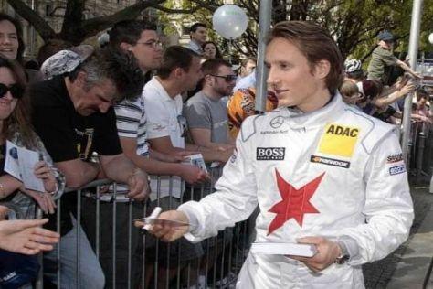 Renger van der Zande geht als Neuling 2011 mit Mercedes an den DTM-Start