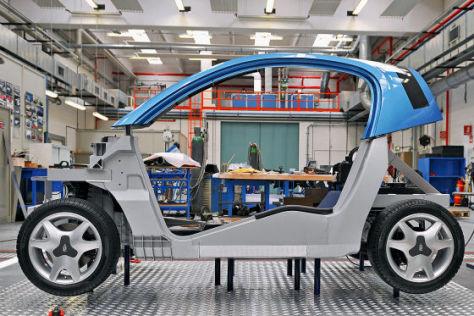 Modell Pininfarina Nido EV