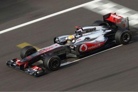 Lewis Hamilton erbrachte in China den Beweis: Der McLaren MP4-26 rennt gut