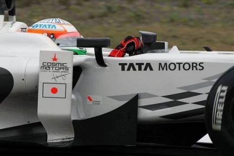 Großes Ziel: Narain Karthikeyan will beim ersten Indien-Grand-Prix glänzen