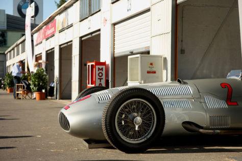 Silberpfeil Historisches Fahrerlager Nürburgring