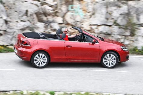 VW Golf Cabrio TSI