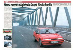 Mazda 626 Coup� GLX 2.0i: Test